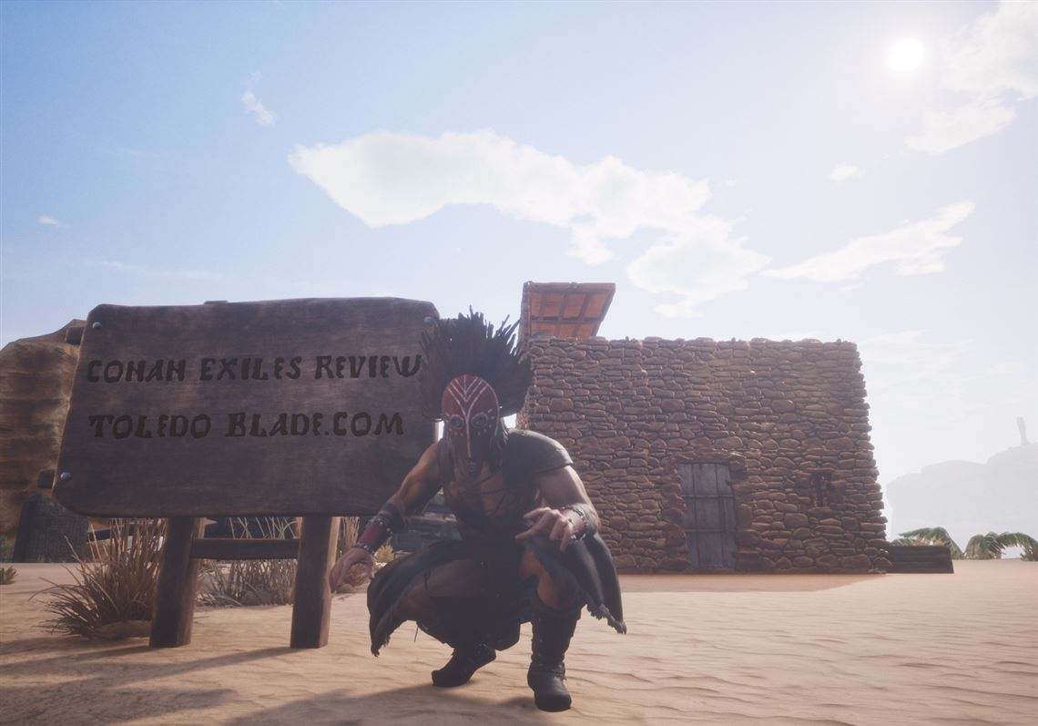There's no wrong way to play 'Conan Exiles' | Toledo Blade