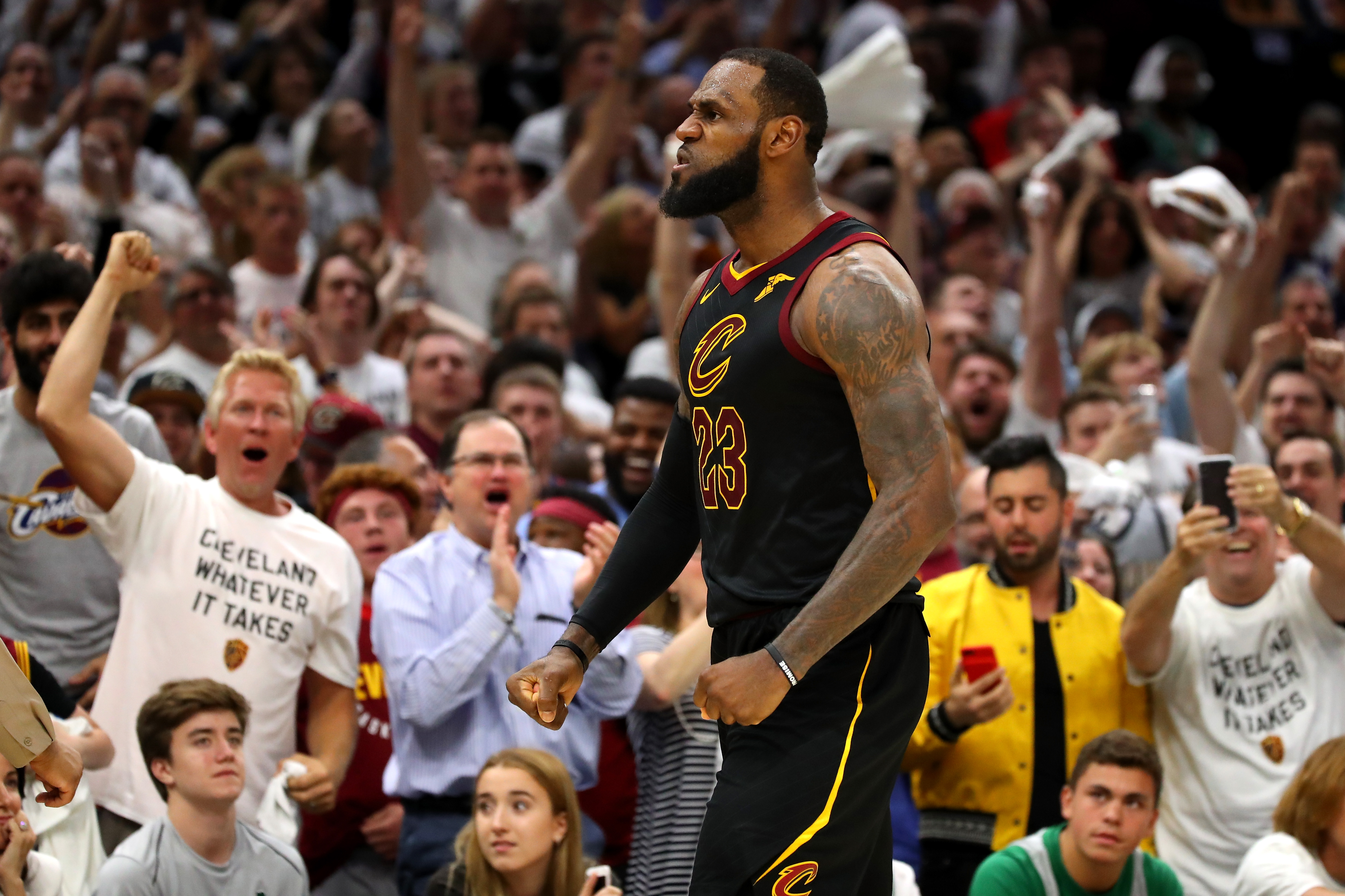 If LeBron James just played his final game in Cleveland, how magnificent it was - The Blade