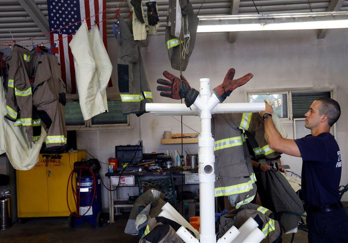 Toledo firefighter develops gear dryer