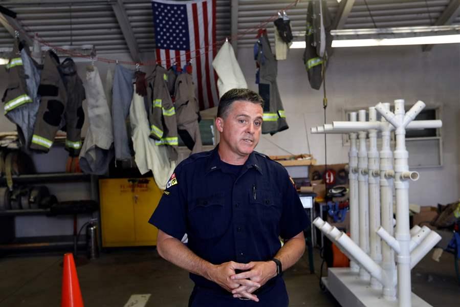 Toledo Firefighter Develops Gear Dryer For Multiple