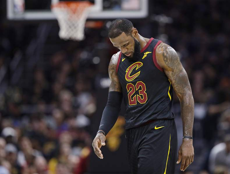 LeBron James Speaks With Cavs GM Koby Altman, Agent Meets With 76ers