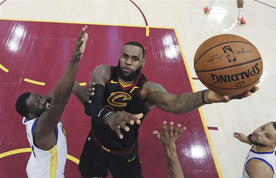 National Basketball Association superstar LeBron James signs with LA Lakers