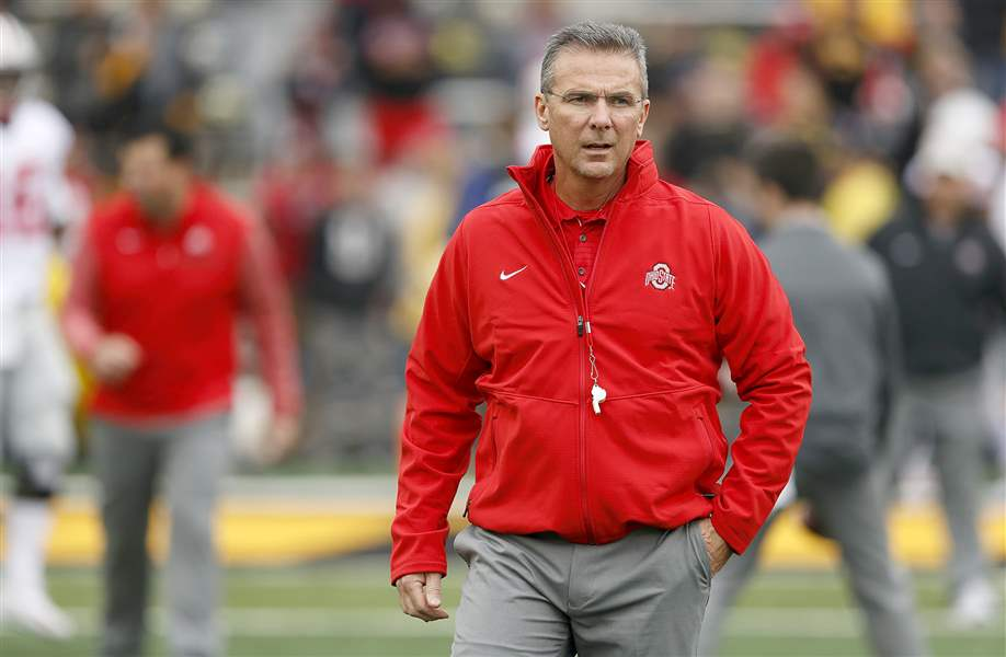 Ohio State head football coach Urban Meyer suspended for 3 games