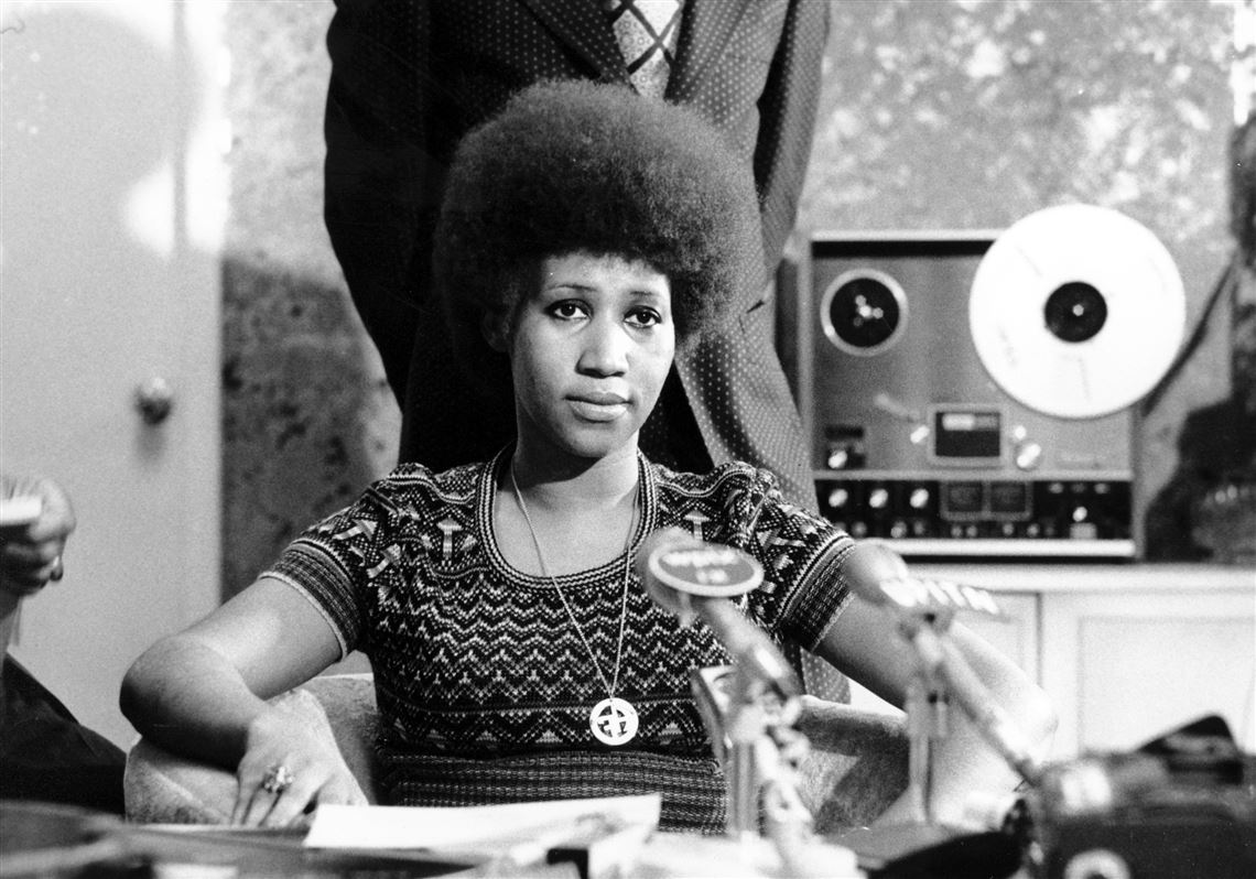In This March 26 1973 File Photo Soul Singer Aretha Franklin Ears At A