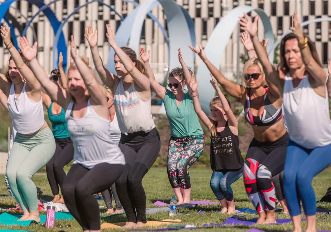 e7008b336f Yoga is identified as a top fitness trend for 2018 by the American College  of Sports