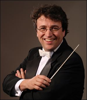 Alain Trudel is the new conductor of the Toledo Symphony.