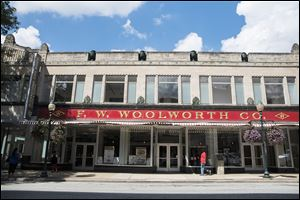 The International Civil Rights Center & Museum, where the Woolworth sit-in took place in Greensboro, N.C.