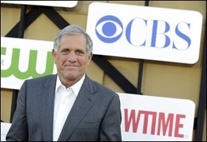 In this July 29, 2013, file photo, Les Moonves arrives at the CBS, CW and Showtime TCA party at The Beverly Hilton in Beverly Hills, Calif.  On Sunday, Sept. 9, 2018, CBS said longtime CEO Les Moonves has resigned, just hours after more sexual harassment allegations involving the network's longtime leader surfaced.