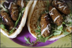 Sweet Potato and Walnut Koftas.