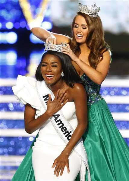 America 53  York Nia Imani Franklin Wins Pageant