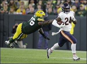 Chicago Bears' Jordan Howard could have a big game this week against Seattle.