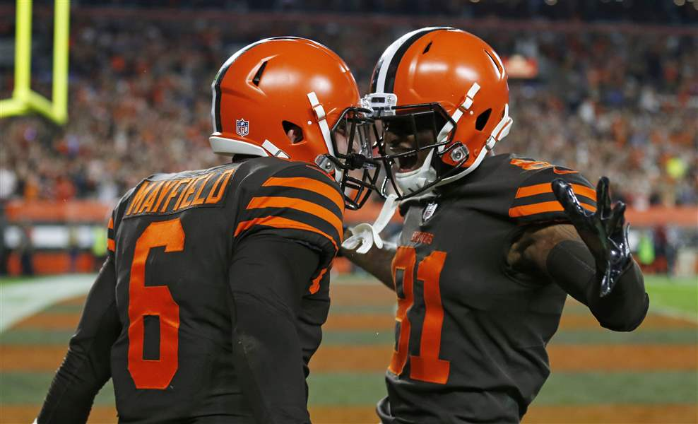 Browns Top Jets For 1st Win Since 2016