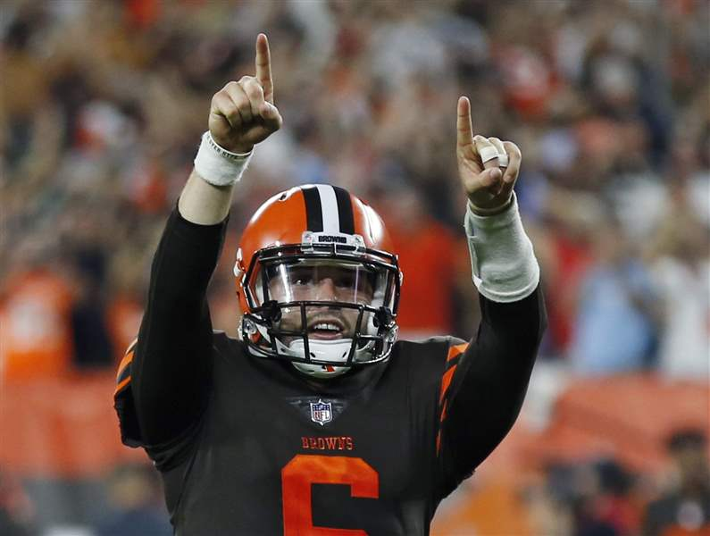 Browns' Baker Mayfield Breaks Social Media Silence Ahead of Start