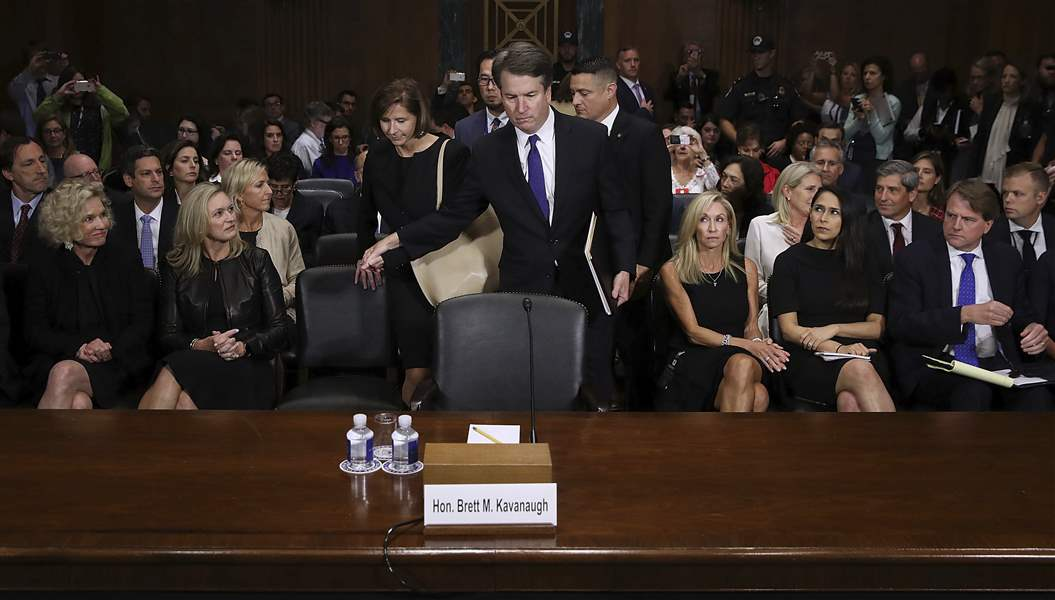 Senate's first vote on Kavanaugh expected on Friday