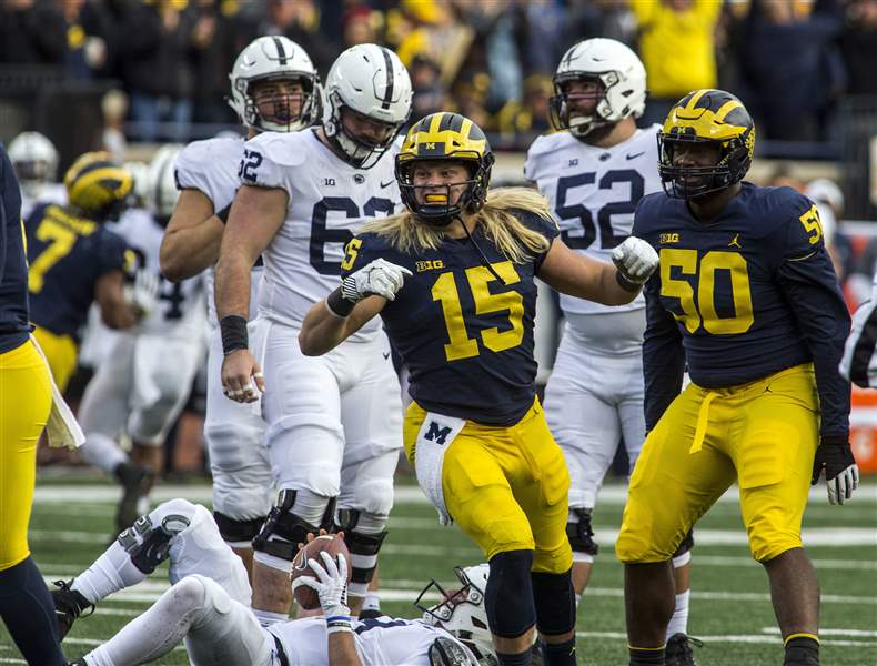 3 observations from Michigan's win over Penn State - The Blade