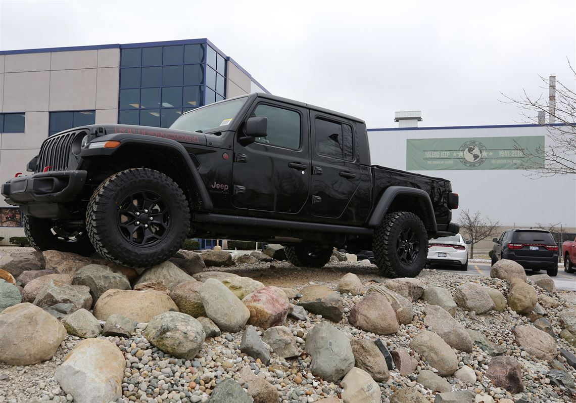 A New Jeep Gladiator Outside The Plant Wednesday In Toledo