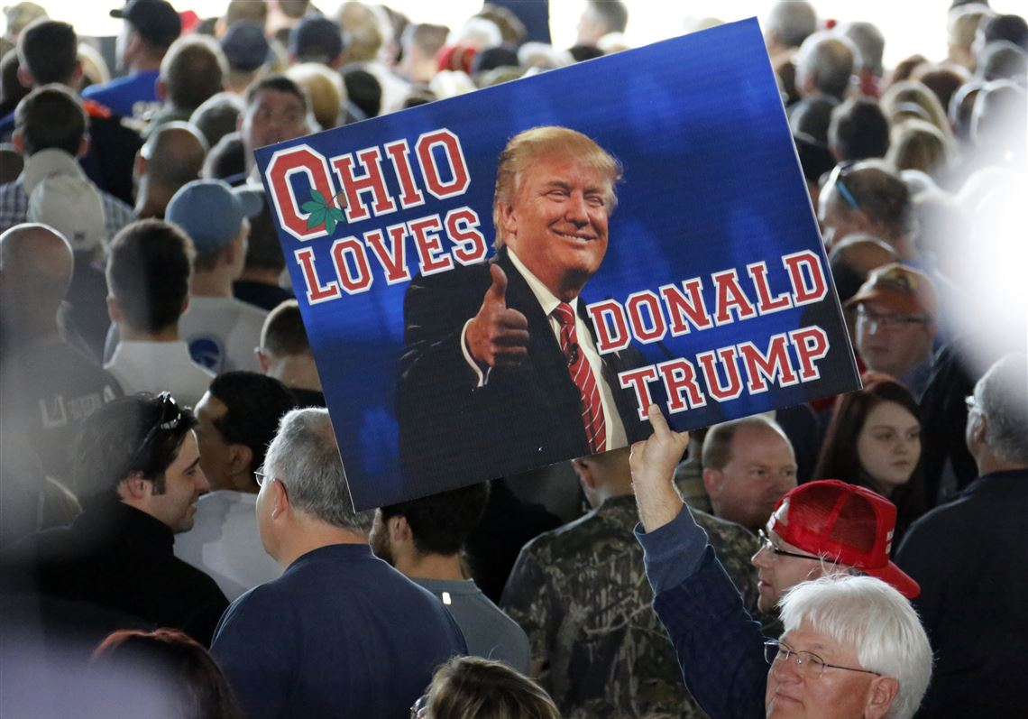 Image result for ohio loves Trump