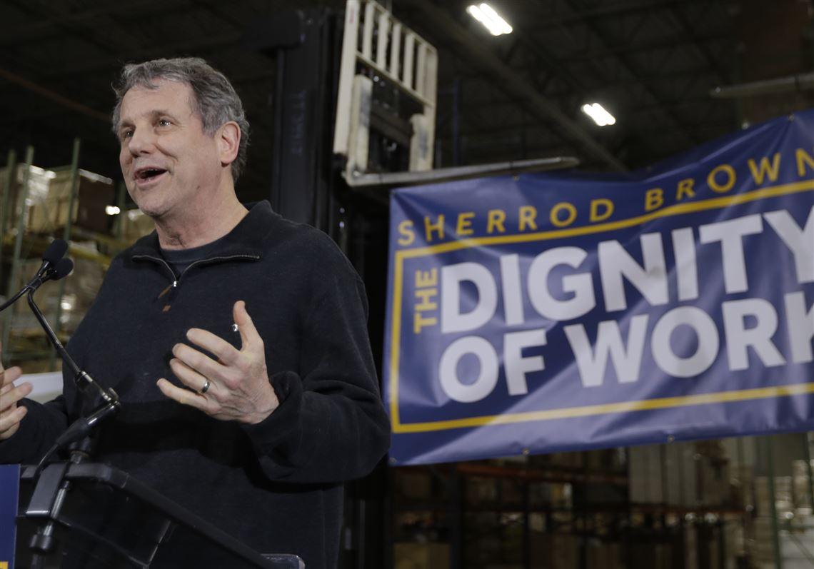 a5c642aa Still considering bid for president, Brown kicks off 'Dignity of ...