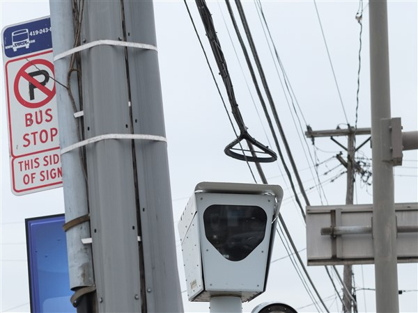 Red-light camera restrictions stay as DeWine signs fuel tax