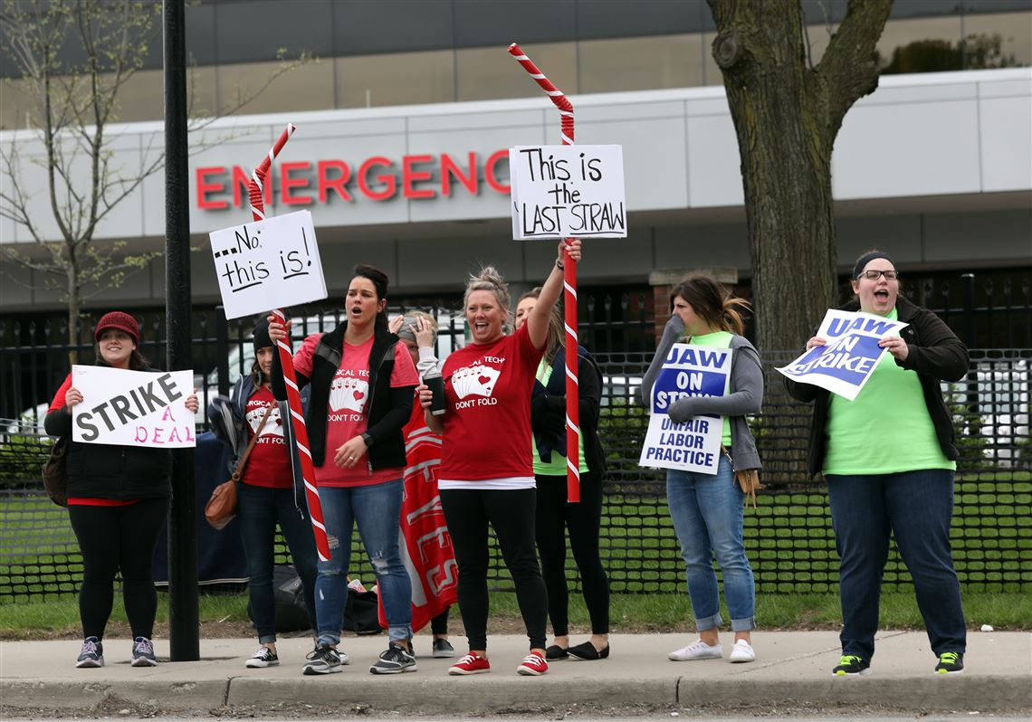 Hospital workers strike: 'We deserve to be fairly paid'   Toledo Blade