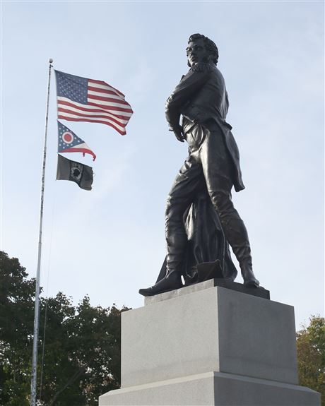 Hearts of stone and steel: Memorial Day monuments serve as a