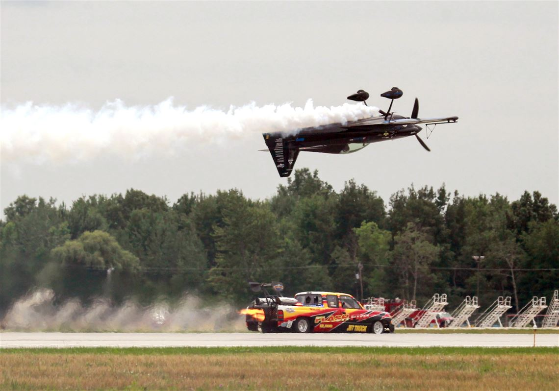 Parking layout differs at this year's Toledo Air Show