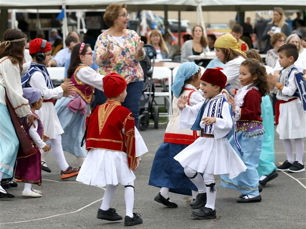 Toledo all about the ouzo at first day of Greek-American