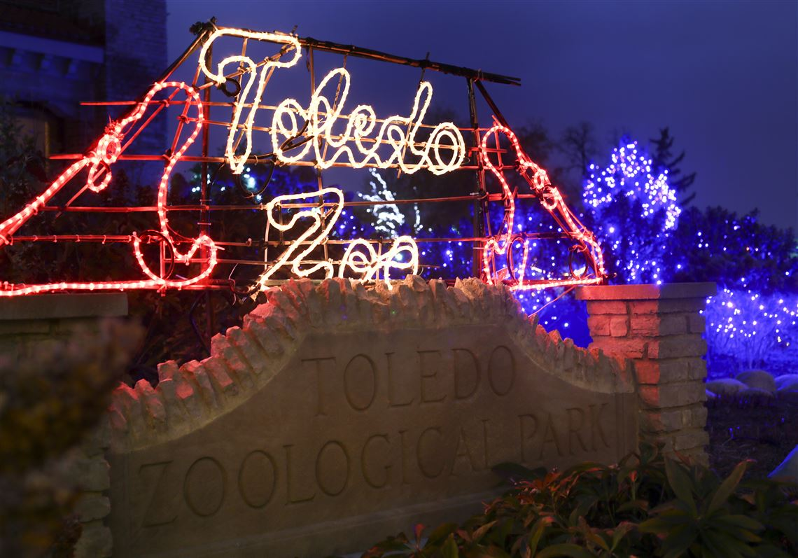 Toledo Zoo Christmas 2020 Dates Toledo Zoo holiday lights again ranked 2nd best in national poll