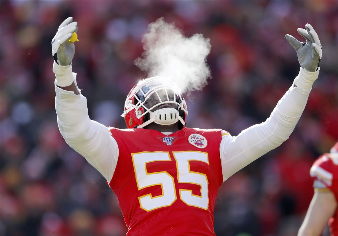 Ex-Michigan DE Frank Clark helping lead a Chiefs defense that's ...