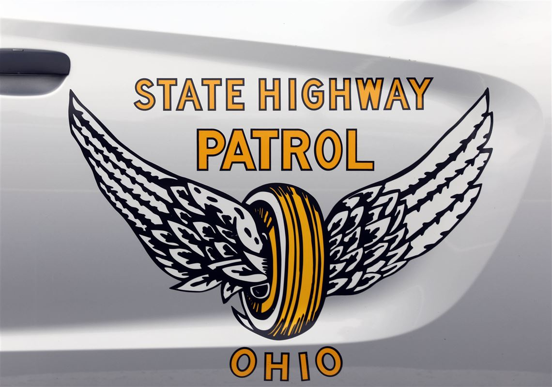 """Details about  /Two Ohio State Highway Patrol /""""Share the Road Safely/"""" key fobs."""