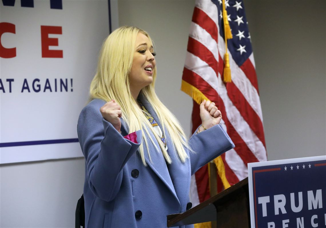 Tiffany Trump Stumps For Father In Holland As Poll Shows Him Trailing Biden The Blade